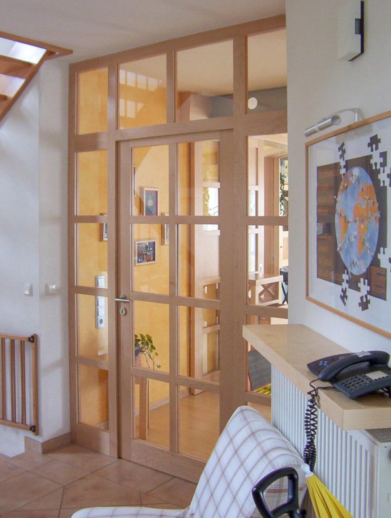 Haustür Holztür Tür aus Holz Haustüren Holz Eingangstür Holz Massive Holztüren Massivholztür Windfang